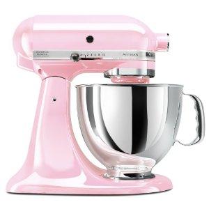 Kitchen Aid Artisan 5 Quart Stand Mixer Komen Foundation Pink